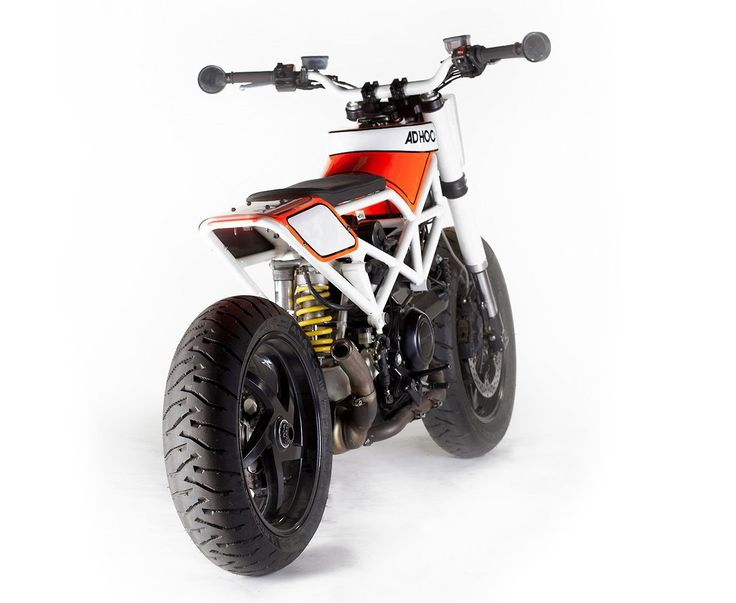 "we-r-stubborn: Ad Hoc Ducati ""Haptica"" Tracker - Monster Eats Design"
