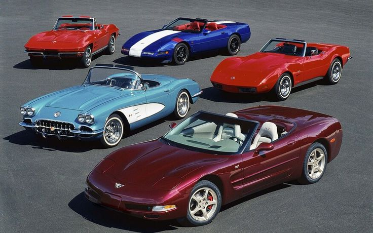 Chevrolet Corvette Convertible A History in Photos From
