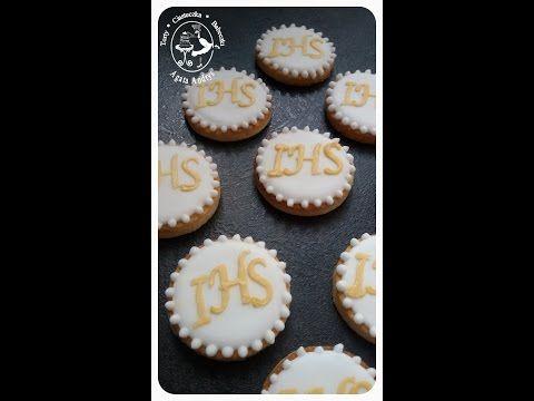 TORTY * CIASTECZKA * BABECZKI - AGATA ANDRYS: ELEGANCKIE CIASTECZKA KOMUNIJNE - PODZIĘKOWANIA DLA GOŚCI elegant communion cookies