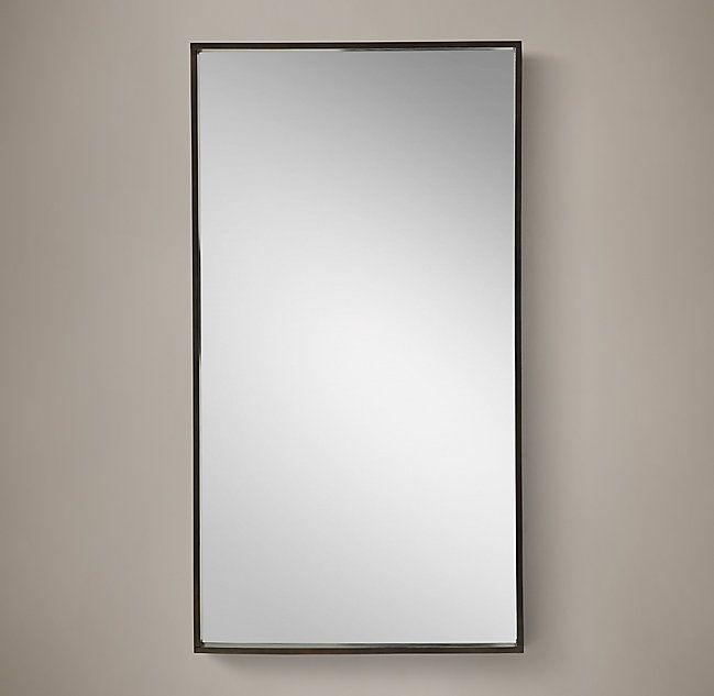 Metal Dovetail Mirror