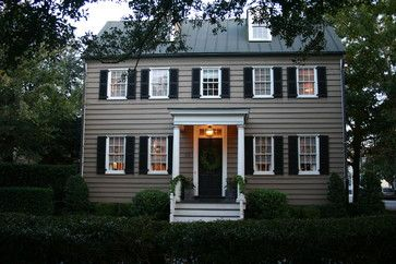 colonial house colors exterior   Home colonial exterior Design Ideas, Pictures, Remodel and Decor