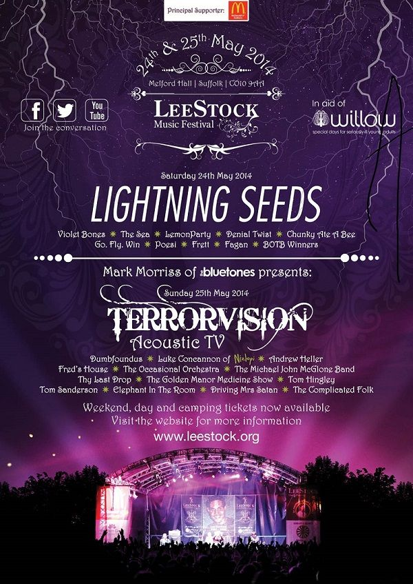 You could win tickets for this years LeeStock Music festival here - http://www.suffolktouristguide.com/LeeStock-Music-Festival.asp