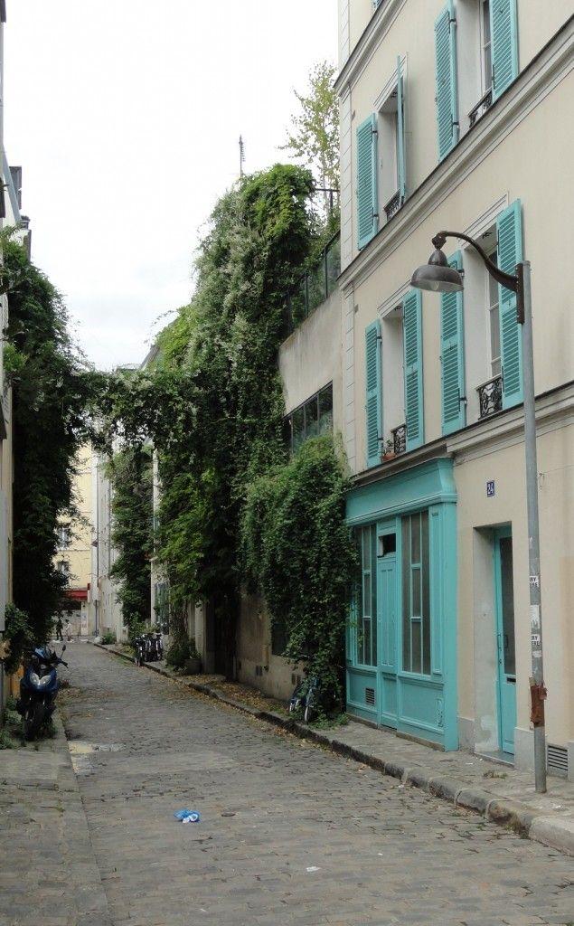 Balade dans le 14e : un air de campagne - La rue des Thermopyles est une voie située dans le quartier de Plaisance du 14ᵉ arrondissement de Paris