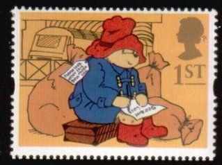 Literary Stamps: Bond, Michael (b.1926)