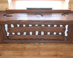 Каталог мебели под старину из массива сосны, мебель с эффектом старения на заказ :: Альфа СВ