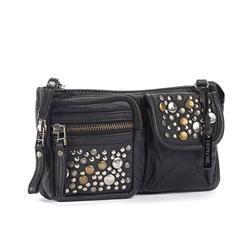 DEPECHE clutch vintage - style B10014 - black