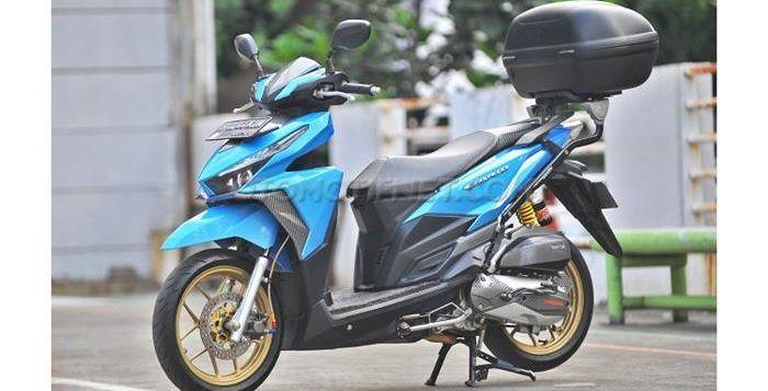 Modifikasi Honda Vario 150 eSP 2015 Khusus Turing