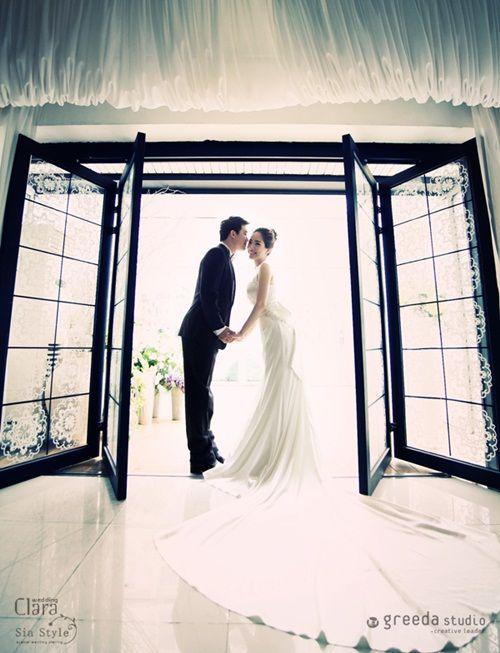 I LOVE Korean wedding photoshoots