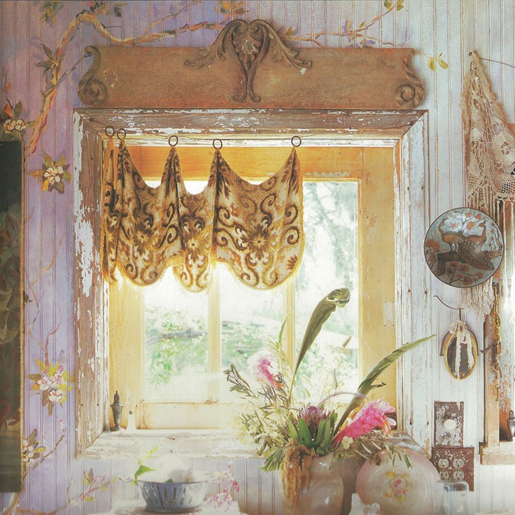 Magnolia Pearl Ranch - This is still one of my favorite window treatments