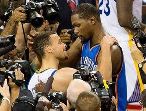 Blog Esportivo do Suíço:  Kevin Durant deixa o Thunder e se junta a Stephen Curry nos Warriors