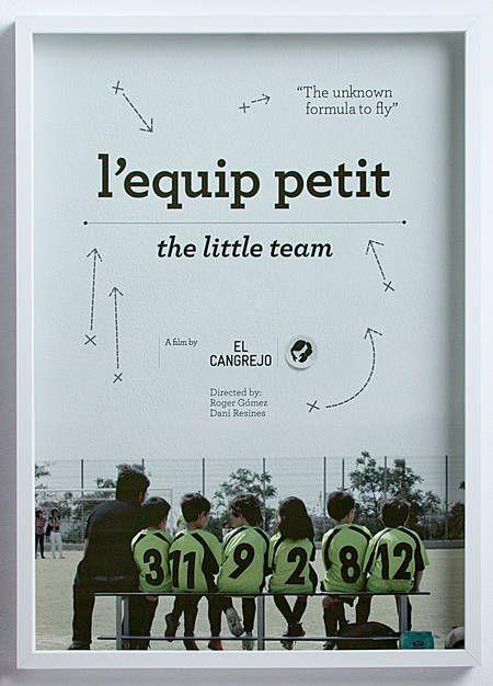 L'equip petit (Print, Motion) by Lo Siento Studio, Barcelona