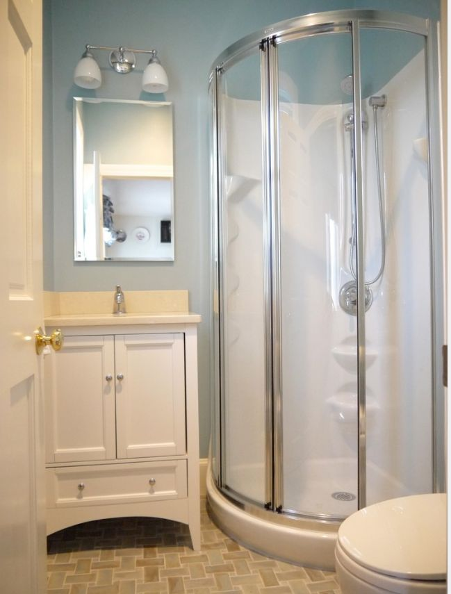 no sliding doors like granny small showers design pictures remodel decor and ideas page 53 rounded shower stall