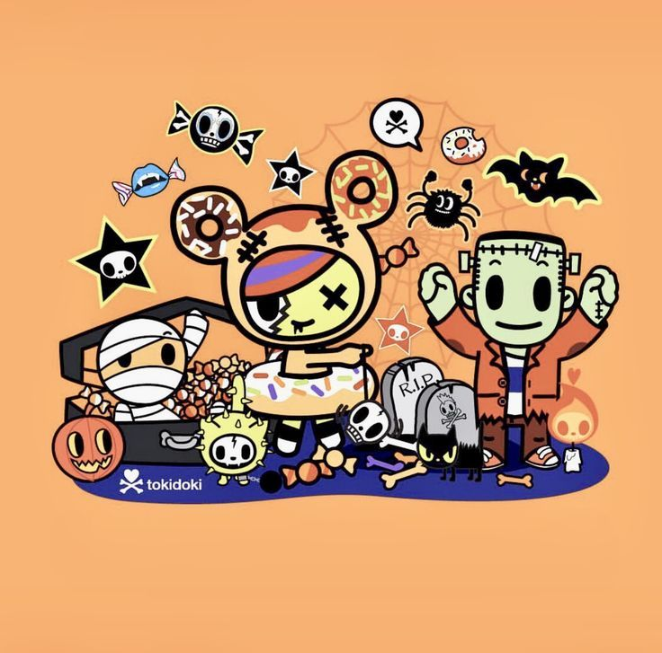 Tokidoki Halloween 2020 Beautiful Tokidoki iPhone X Wallpaper 61502351147165418 in 2020