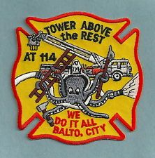 BALTIMORE CITY FIRE DEPARTMENT AERIAL TOWER COMPANY 114