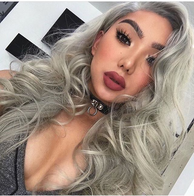 Lillylashes Nikita Dragun Wearing 3d Lillylashes In Style Miami