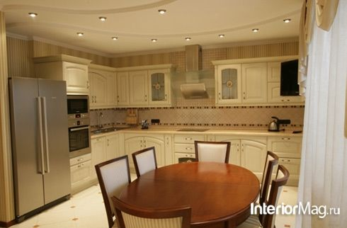 Кухни Классика - фото дизайна интерьера кухонь в классическом стиле | ИнтерьерМаг.ру