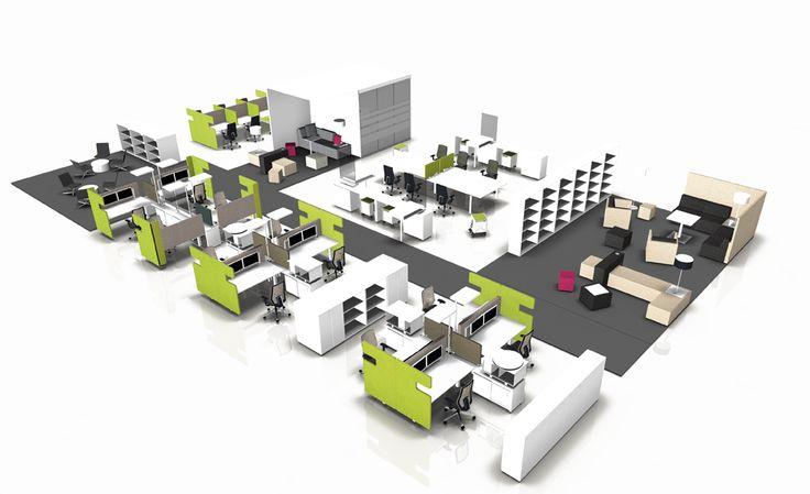 17 besten Büroplanung Bilder auf Pinterest   Büros, Arbeitsbereiche ...