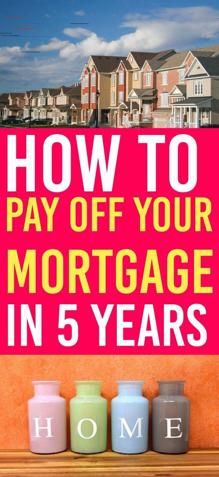 How To Pay Off Your Mortgage Faster And Become Mortgage Free In 2020 Paying Off Mortgage Faster Pay Off Mortgage Early Mortgage Free