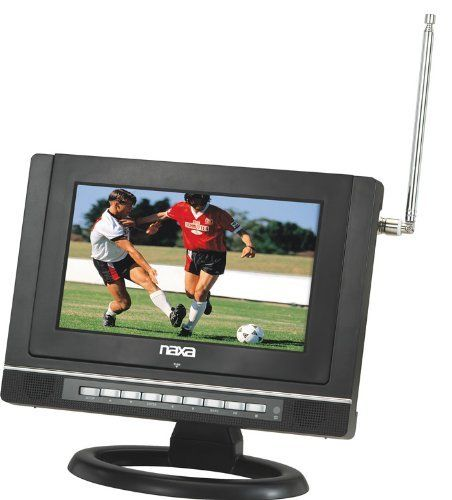 """Naxa 10"""" Widescreen Digital LCD Television with Built-In DVD Player and USB/SD/MMC Inputs by Naxa. $129.00. The Naxa NTD1050 is a 10"""" Widescreen Digital LCD Television with Built-In DVD Player. It features a multi-language on screen display (OSD)."""