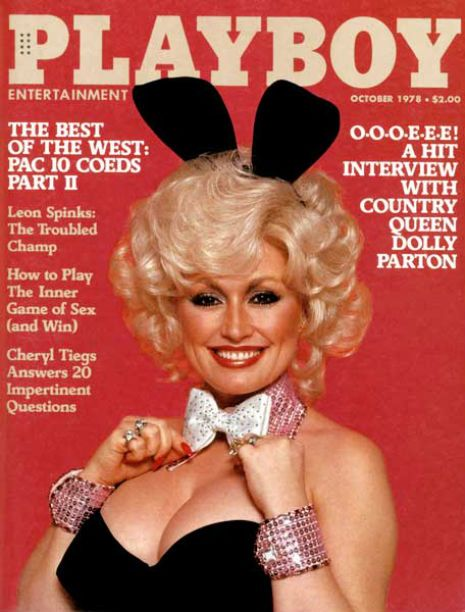 Dolly Parton 1978 Playboy Cover