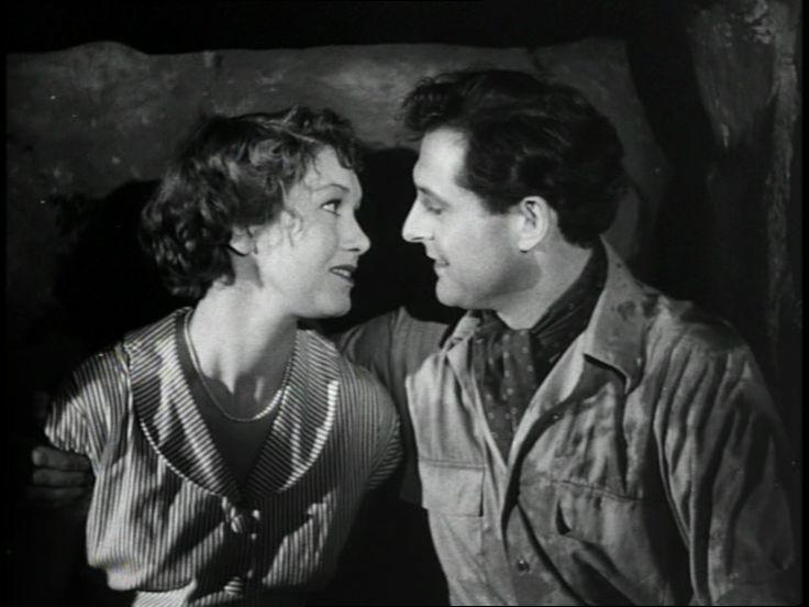 Poul Reichhardt og Grethe Holmer, i Det store løb fra 1952.