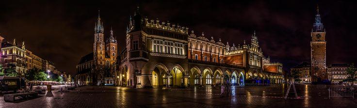 https://flic.kr/p/oodmuF | Rynek Główny w Krakowie | Der Marktplatz in der Altstadt von Krakau.  (Das original Foto hat knapp 80 Mega Pixel.)