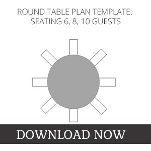 10 person round table seating chart template