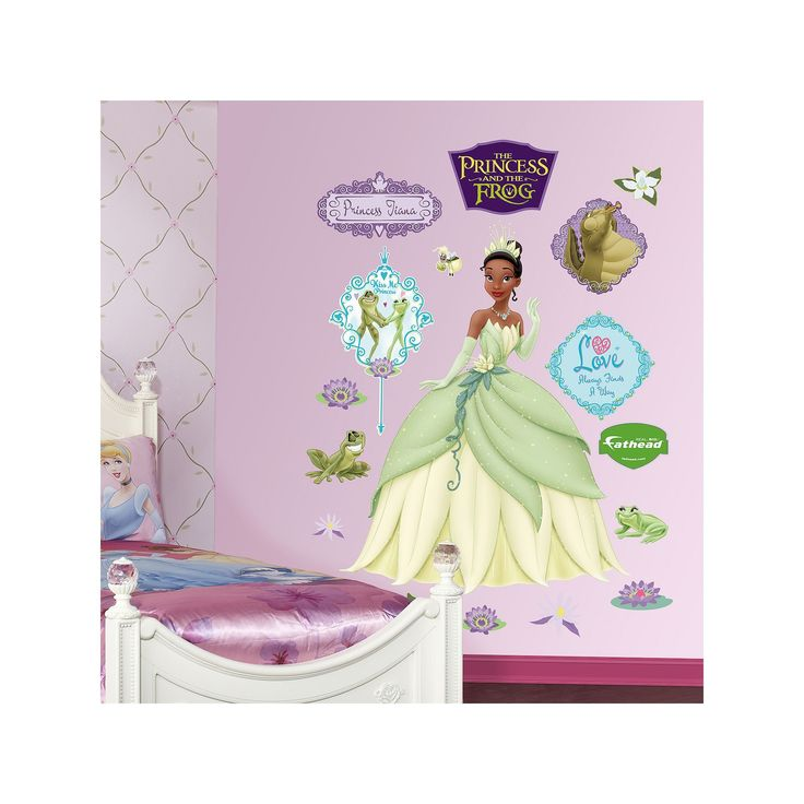 25 best ideas about disney princess decals on pinterest for Disney princess mural stickers
