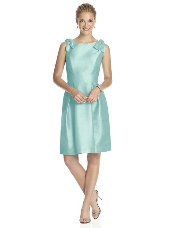 a3c1c4f4cd Alfred Sung D626 Bridesmaid Dress In Seaside In 2018 Fashion