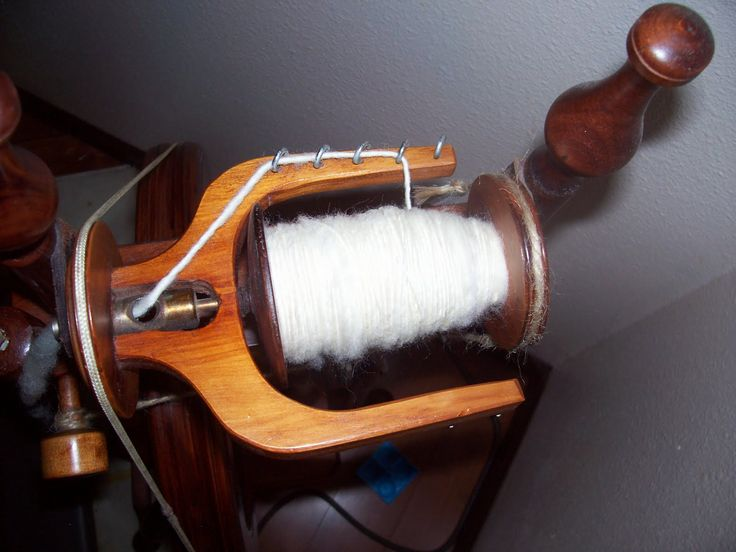 Yes, a quote from a Dead or Alive song to talk about spinning yarn! I spun last night for the first time since becoming a mom. It's been nea...