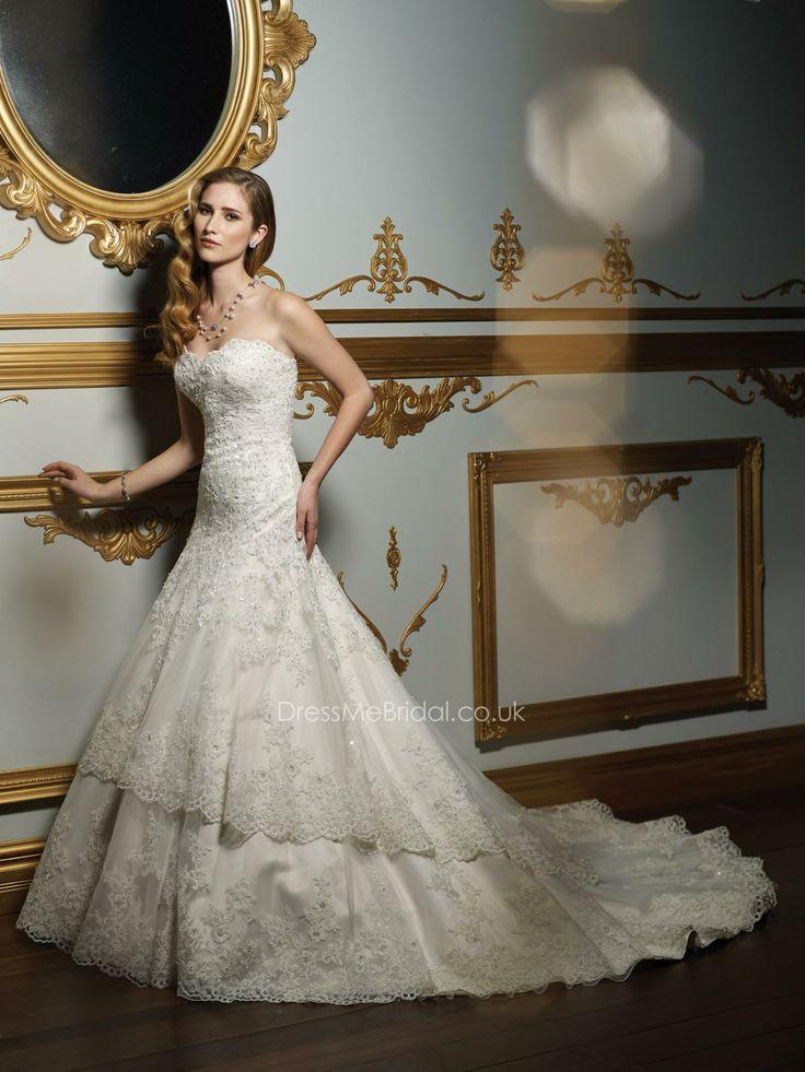 12 best mermaid wedding dresses uk images on Pinterest | Wedding ...