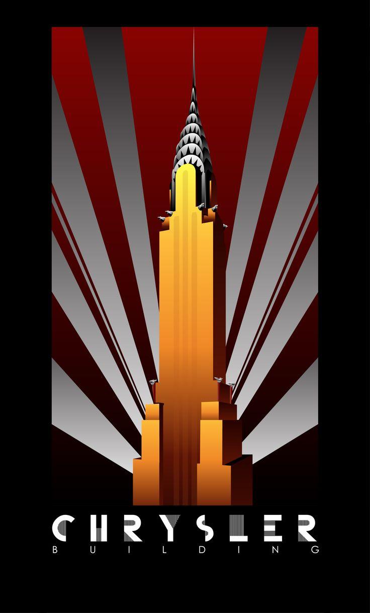 Art Deco Posters by Nathan Quintana at Coroflot.com