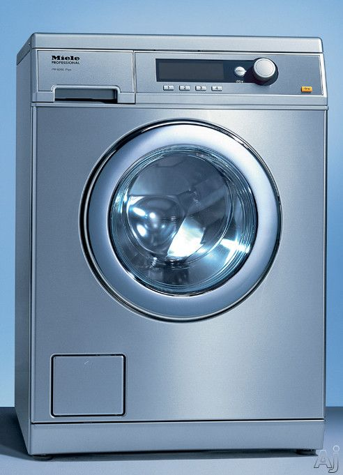 """Miele PW6065 24"""" Front Load Washer with 15 Lbs. Capacity, Stainless Steel Honeycomb Wash Drum, Large LCD Screen, 11 Standard Wash Settings, ...4125.00"""