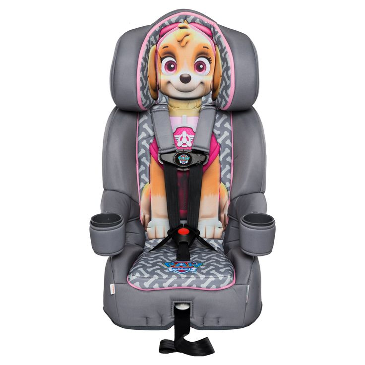 KidsEmbrace Friendship Combination Booster Car Seat - Nickelodeon Paw Patrol Skye, Gray