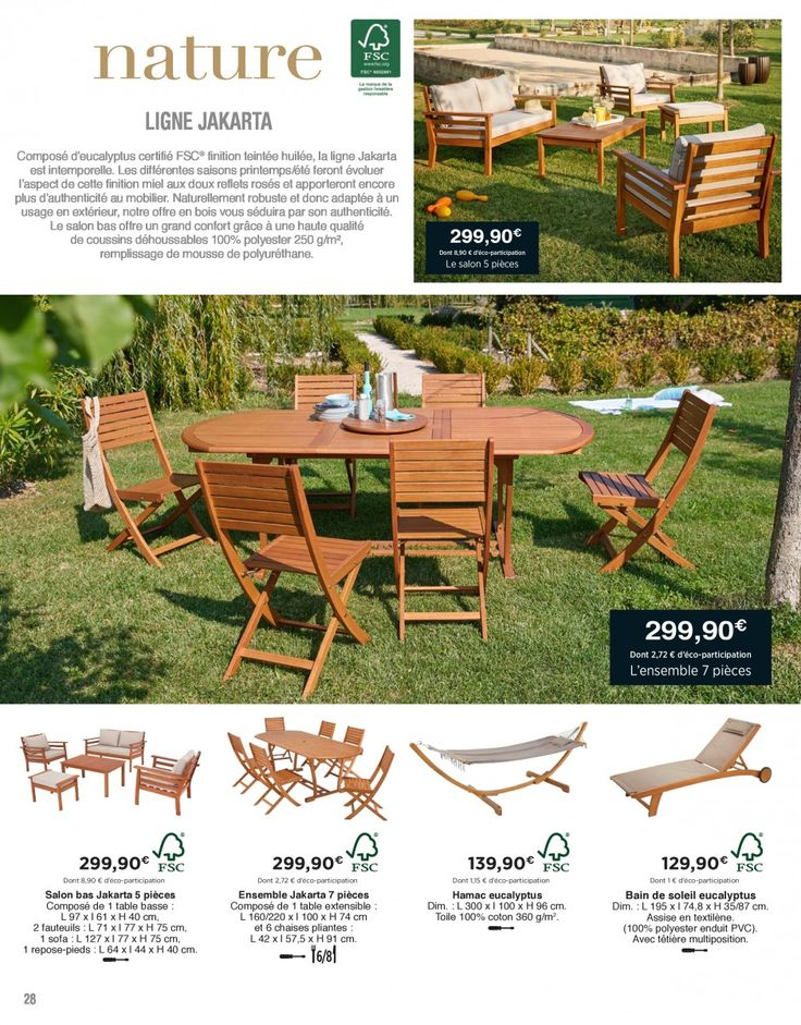Catalogue carrefour hypermarch ensemble de jardin - Catalogue carrefour salon de jardin ...