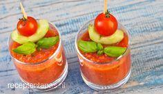 Gazpacho, Gezonde Spaanse groentesoep die ijskoud het aller lekkerst is.