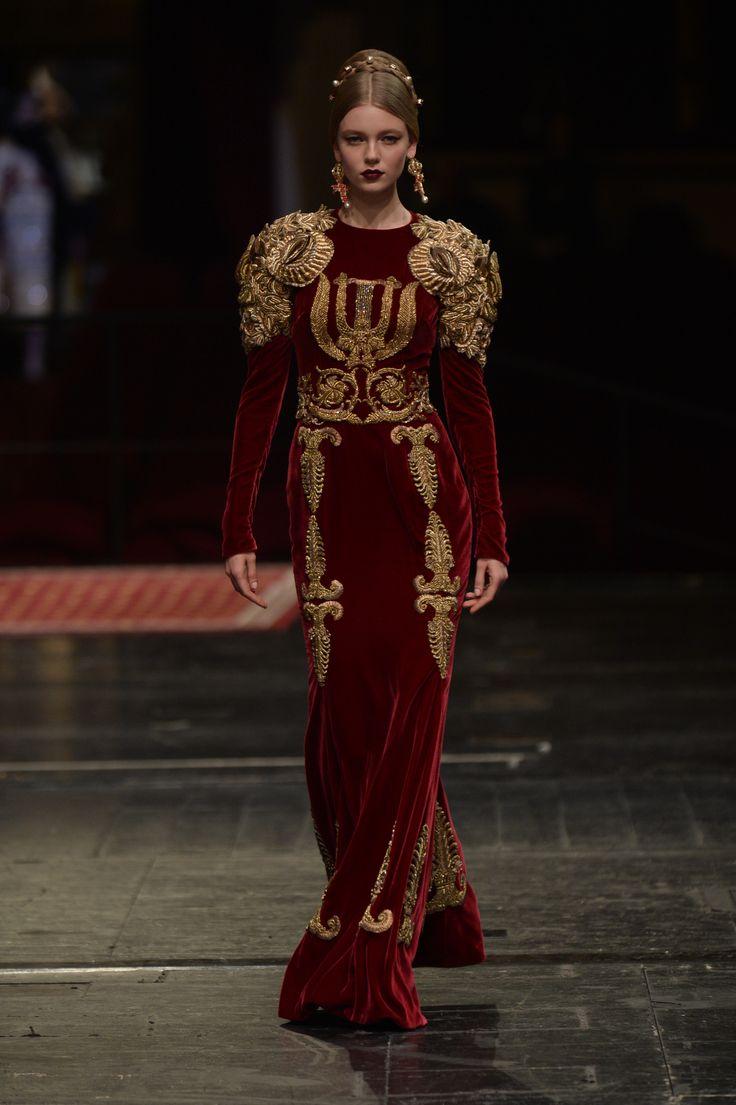 Défilé Dolce & Gabbana Haute Couture printemps-été 2016