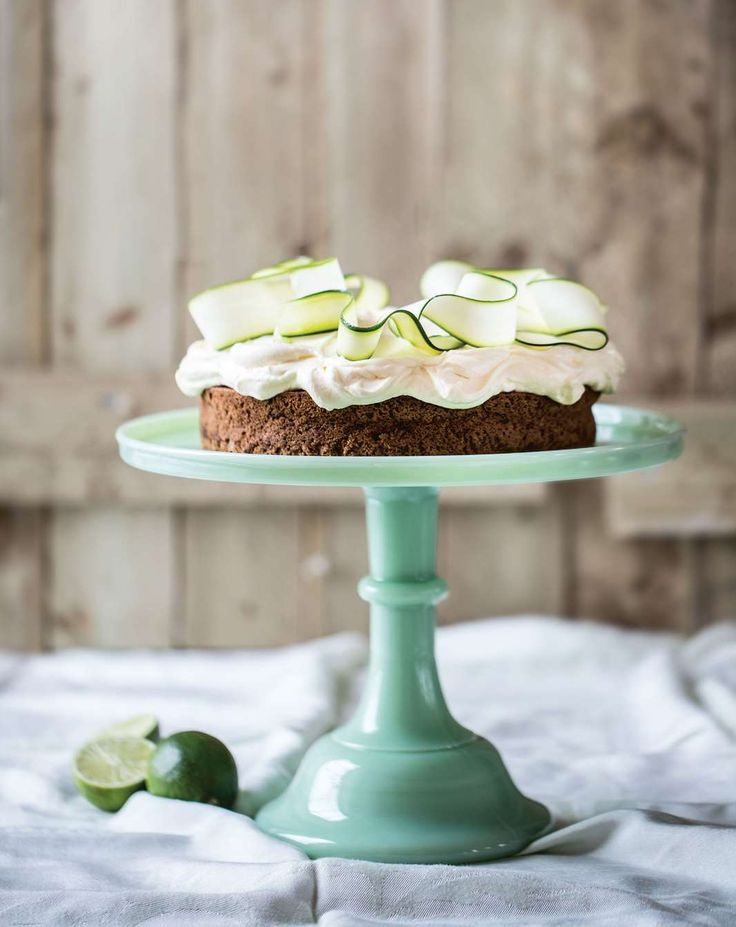 Zucchini and lime cake by Gillian Reith from Three Sisters Bake | Cooked
