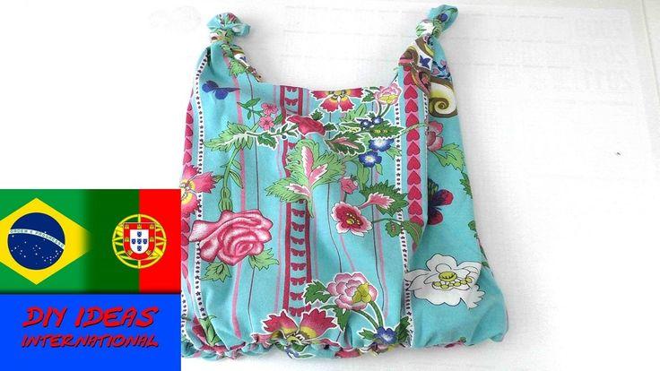 Armario Inox Magazine Luiza ~ Como fazer bolsa em tecido sem costura reaproveitando