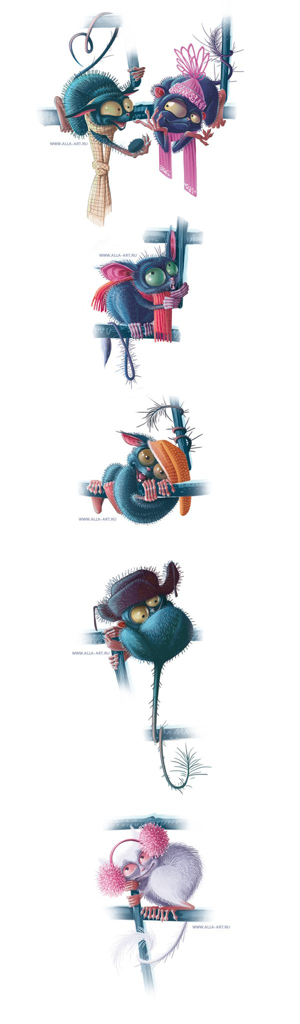 PostCard Characters