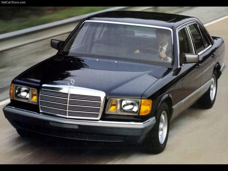 1979 1991 mercedes w126 s class