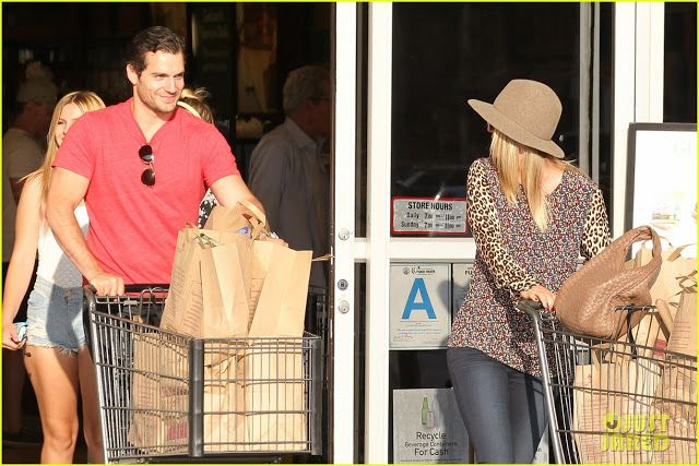 Celeb Diary: Henry Cavill & Kaley Cuoco in Studio City, California