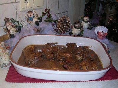 Konijn op Lummense wijze is een lekker recept, Een heerlijke marinade voor konijn.