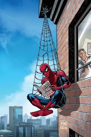 "#Spiderman #Fan #Art. (MARVEL ADVENTURES SPIDER-MAN (2005) #51 Cover) By: Graham Nolan. (To watch the old 1964 TV series of Spiderman, simply press the ""URL"" below, and enjoy the rest of the series while your there: https://m.youtube.com/watch?v=LYi8CGSIx30. (THE * 5 * STÅR * ÅWARD * OF: * AW YEAH, IT'S MAJOR ÅWESOMENESS!!!™)[THANK Ü 4 PINNING!!!<·><]<©>ÅÅÅ+(OB4E)"