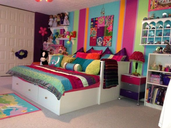 Peace Ful Dreams Tween Bedroom Decorating For The Long