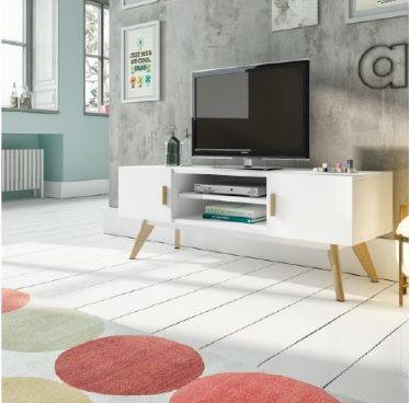 Mueble tv retro #Decoración #interiorismo ELULL INTERIORISMO. Avenida de la Libertad 13, San Vicente del Raspeig (Alicante). 96 567 20 63