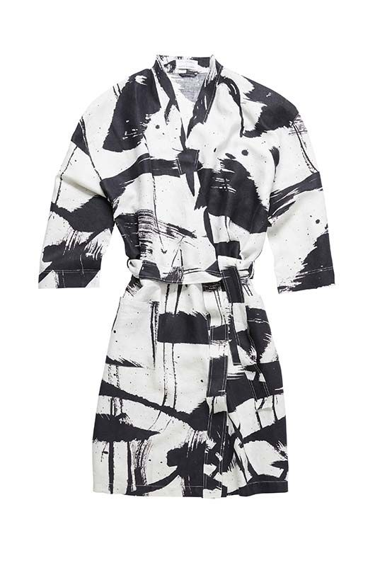 Masini & Chern X The Johnson Hotel Linen Robe « Masini and Chern Sleepwear