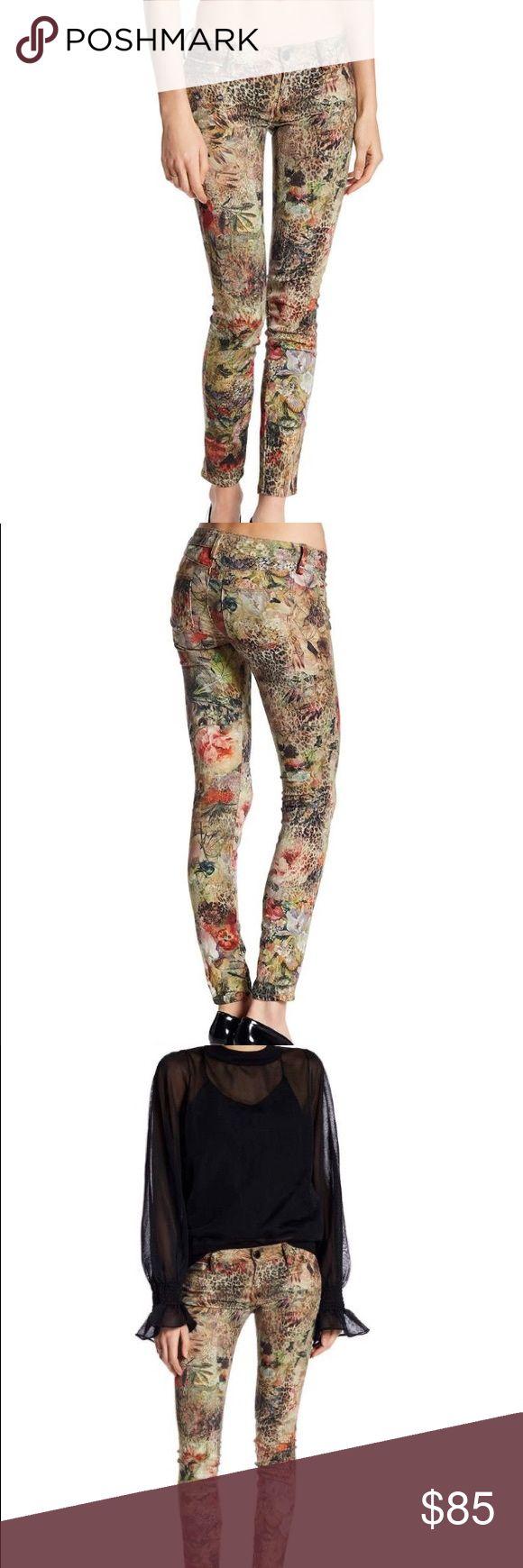 Etienne Marcel – Printed Skinny Jeans Floral / 25 Brand: Etienne Marcel  Printed Skinny Jeans Floral / 25 Etienne Marcel Jeans Skinny