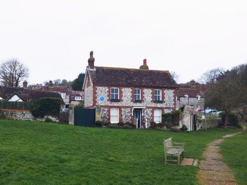 "Sherlock Holmes' ""retirement cottage"", East Dean, Sussex, England"