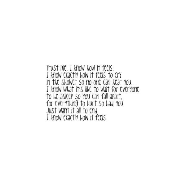 Heartbreak Quotes, Heartbreak Tumblr Quotes, Heartbreak Quote Graphics, Heartbreak Quotes for MySpace found on Polyvore
